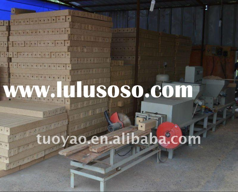 Hydraulic Compressed Wood Block Machine hot selling in india