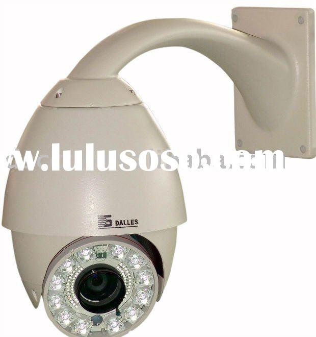 IR speed dome dsp color ccd camera