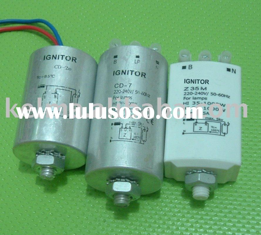 Ignitor for metal halide and sodium lamp
