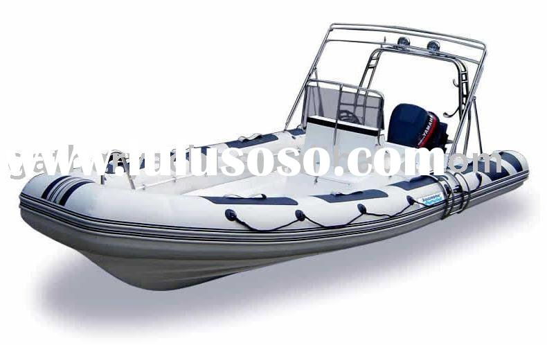 Inflatable rubber boat 680 (CE available)