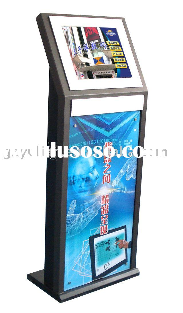 Inquiry machine/ touch screen display/ Kiosk with cash acceptor/ A4 printer/ thermal printer/ Credit