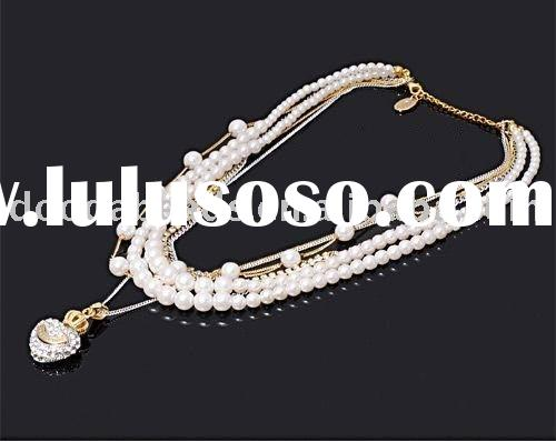 JK-N005 Fashion jewelry necklace, bridal wedding necklace, wedding jewelry