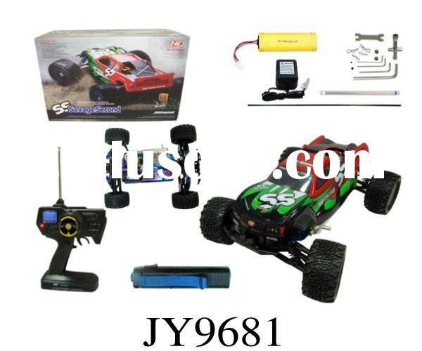 JY9681--1:8 electric start off-road gas rc car
