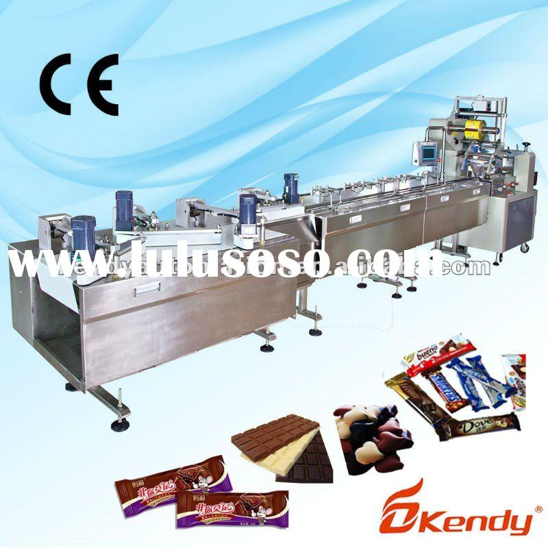 KD-S500J6 full automatic biscuit processing line, wrapping line, wrapping machine