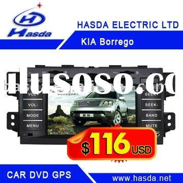 Kia Borrego/Mohave car dvd gps 2 din