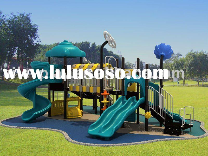 Kids Outdoor Playground Castle Park UFO series products QTL-PS17701