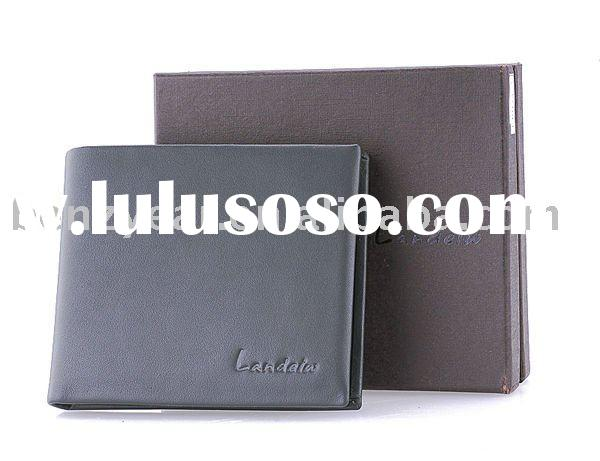 L4028A-3 Branded Men's Leather Wallet design and custome made