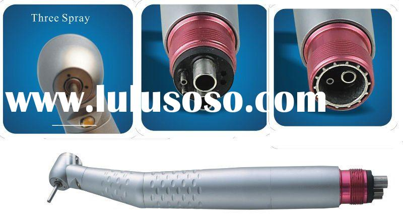 LED high speed dental handpieces with light