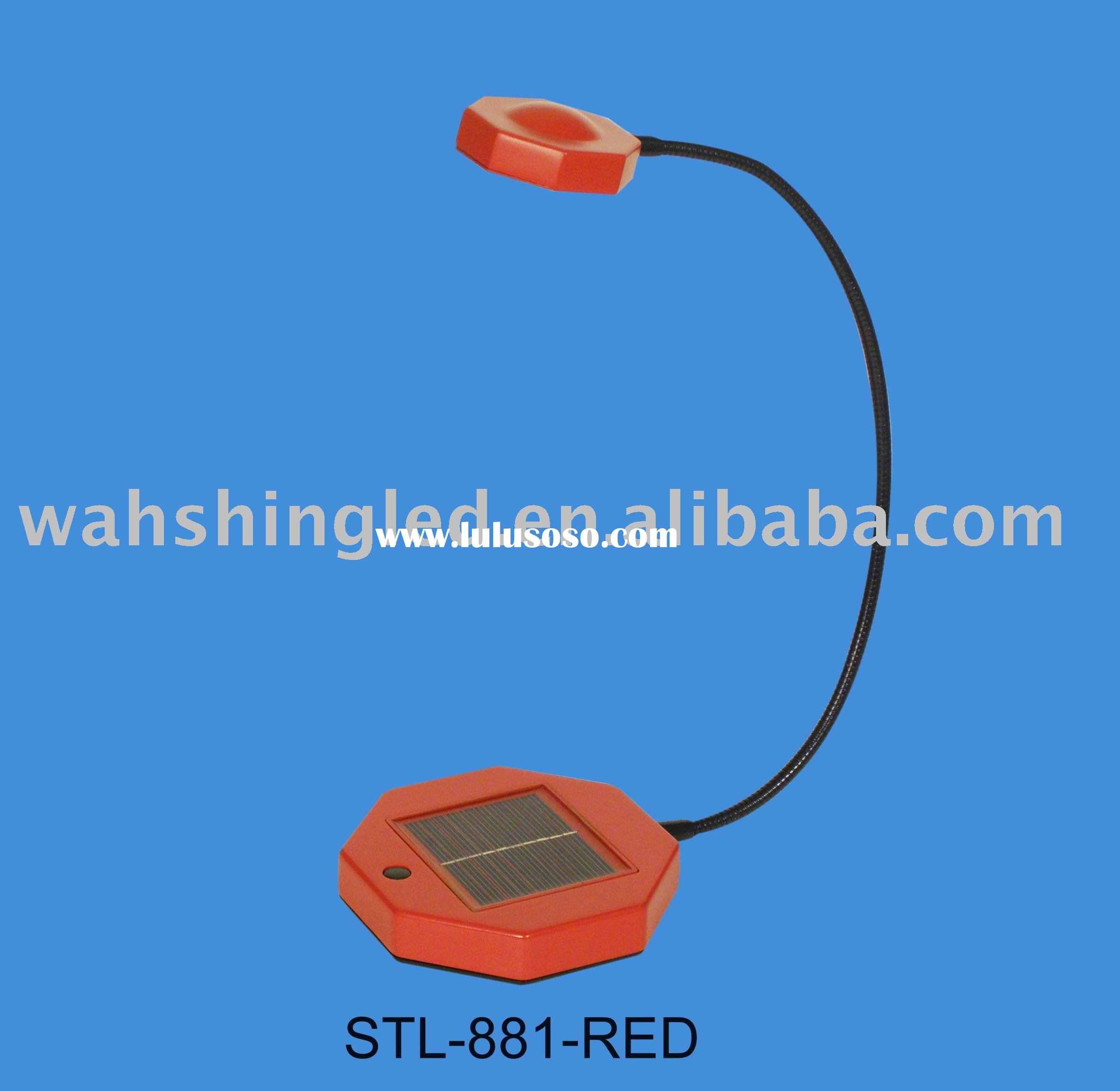 LED solar table lamp, LED desk lamp