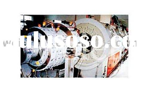 Large Diameter Thin Wall Pipe Extrusion Line---Plastic Machine