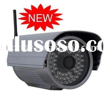 Long distance outdoor wireless IP camera