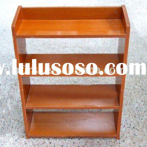 Lot of 50 Solid Wood 4 Tiers Shoe Rack New