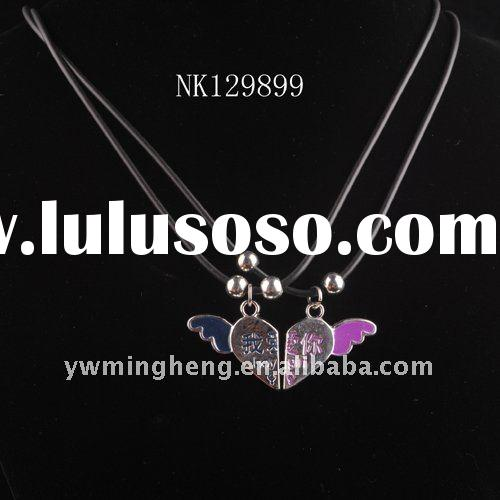 Lovely alloy heart pendant fashion jewelry