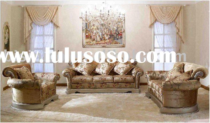 Luxury French country style living room furniture B49166