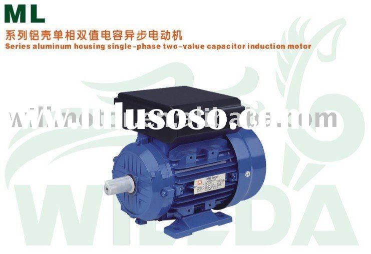Single phase two value capacitor induction motor for sale for Single phase motors for sale