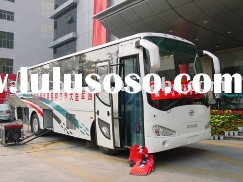 Manufacturer: 10.5m HIGER dental medical bus
