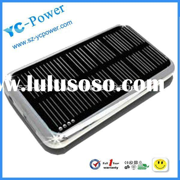 Micro Usb Solar Powered iPhone & iPod Portable Battery Charger for Cell Phone MP3/MP4, PSP, NDS,