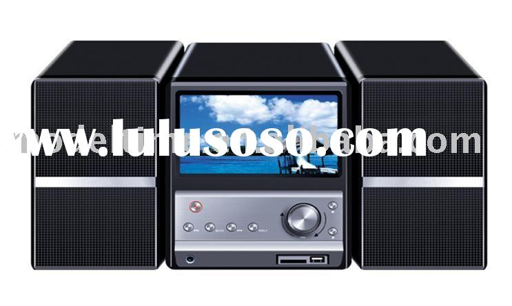 Mini Combo DVD player with 7inch LCD Display