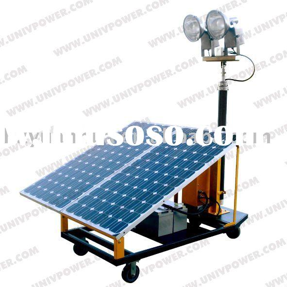 Portable Light Tower Price: Mobile Solar Light Tower For Sale