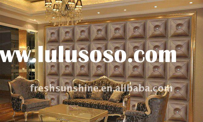 Modern style decoration Leather wall & celling panels