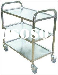 NBF 09012 stainless steel surgical instruments cart
