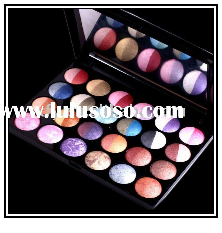 NEW 24 Pcs 48 Color Wet Dry Baked Eyeshadow Palette