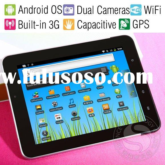 New 9.7 Inch Capacitive Screen GPS Tablet PC, Andorid 2.3 OS, Built-in 3G Bluetoooth Wifi Phone Call