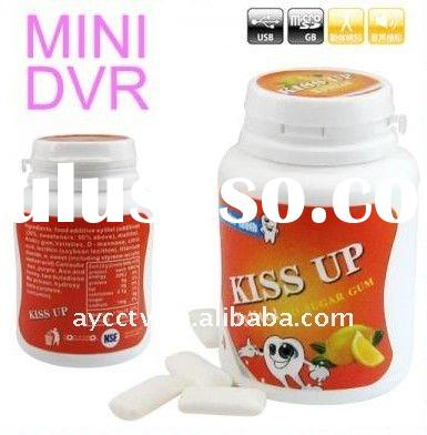 New Chewing Gum Tank Camera 1280*960 HD Voice-Activated