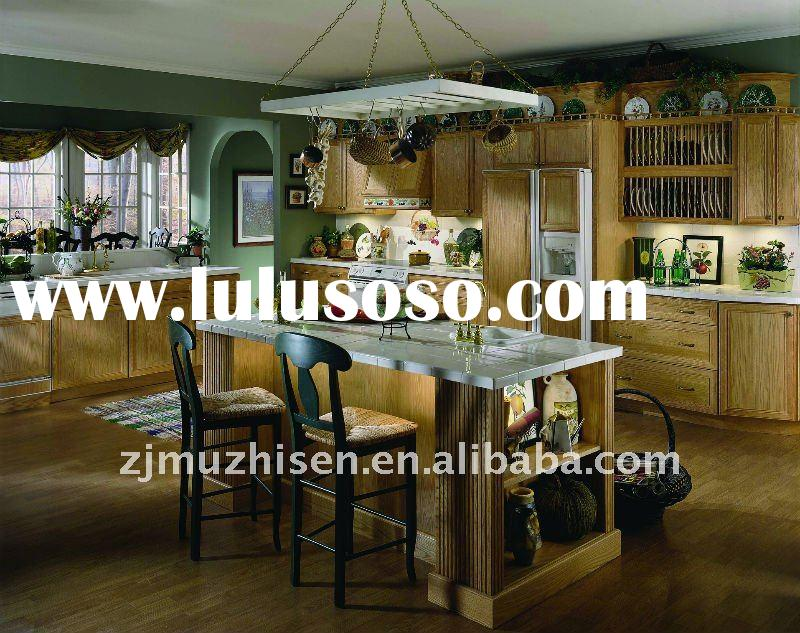 New Design Solid Wood Kitchen Cabinet