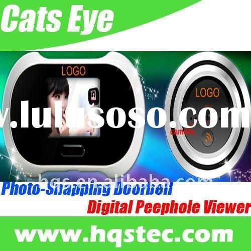 New Digital Cats Eye with Photo Snapping Doorbell