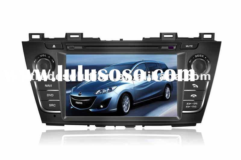 New Mazda 5 Car DVD with Touch Screen GPS Bluetooth 6 CDC ipod iphone Steering Wheel Control RDS