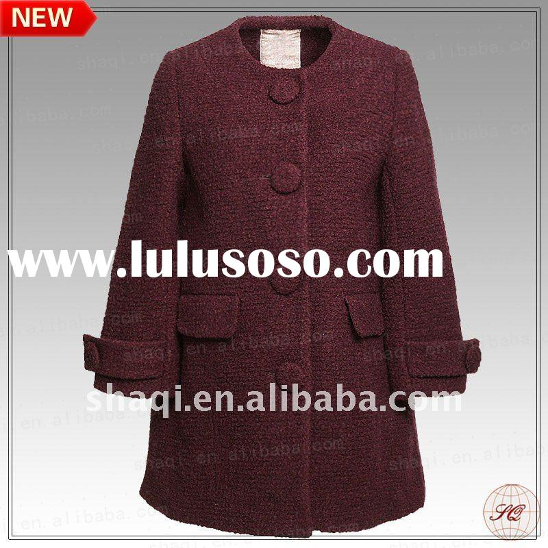 New design women winter coat 2012