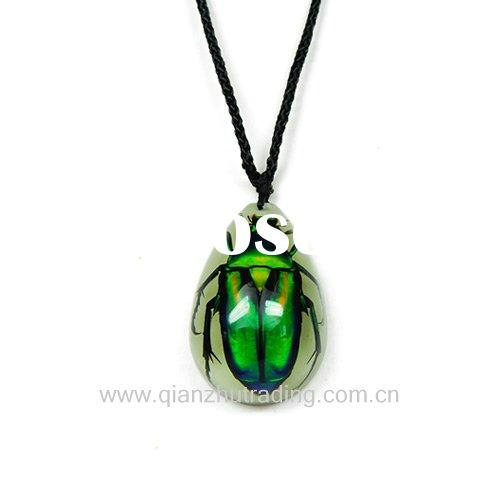 New fashion resin wholesale christmas gift embed real insect