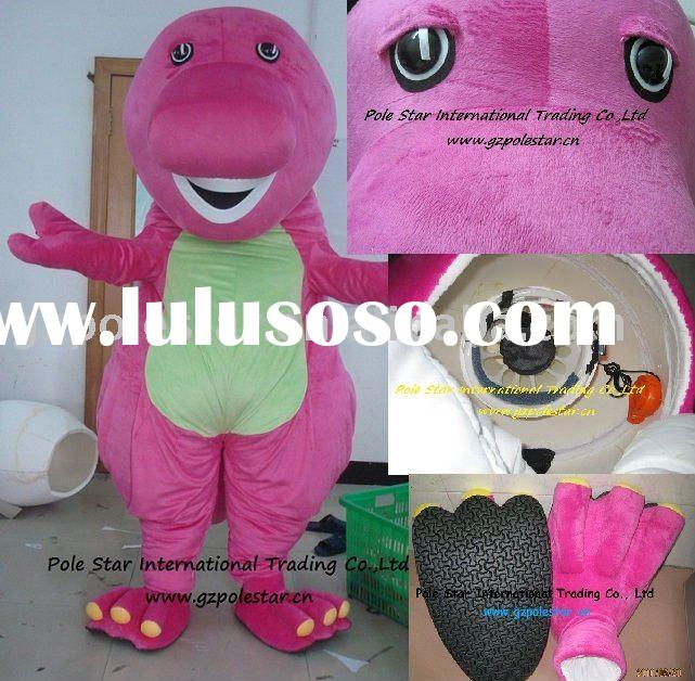 Newest barney family adult costumes