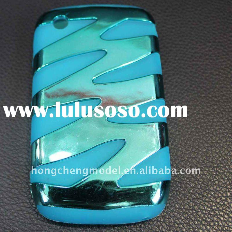 Nice electroplate flashing combo cell phone case for blackberry curve 8520
