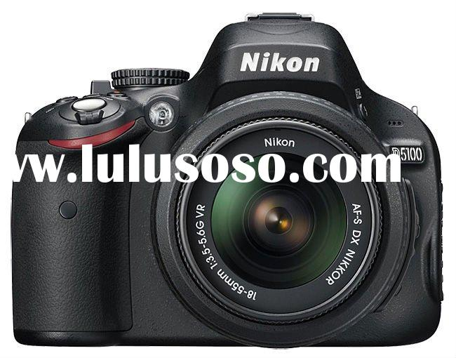 Nikon D5100 kit with Nikon 18-55mm VR Lens Digital SLR Cameras