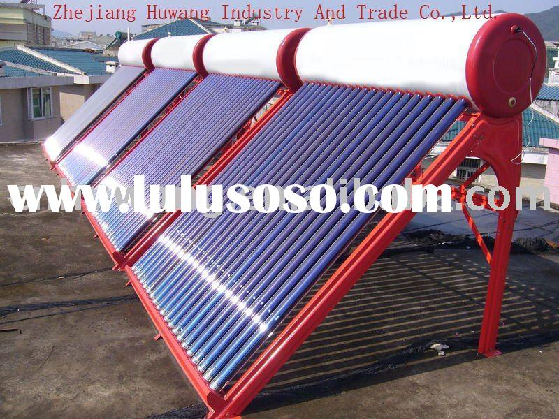 Non-pressurized solar water heater with high quality