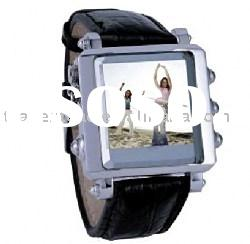 OLED MP4 Watch - 1.5 inch True Color OLED MP4 Watch , FM/Recorder, Support AVI