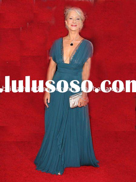 Old lady evening dress ,fashion dress ,fashion evening dress