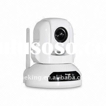 PAL/NTSC PTZ High Speed Dome Security Network IP Camera Wifi with CCD sensor