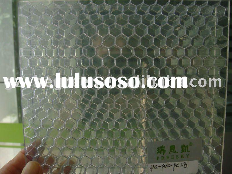 PC alveolate panel,polycarbonate honeycomb sheet, PC honeycomb decorative sheet