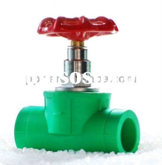 PPR water valve types ppr stop valve (Dia:20-63mm) for hot/cold water supply