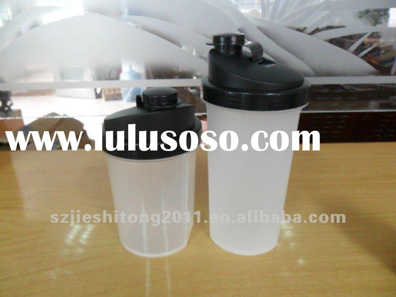 PP material plastic blender drinking water bottle with filter