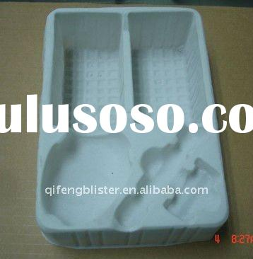 PVC/PET/PE/PS blister packaging/blister container tray/blister tray