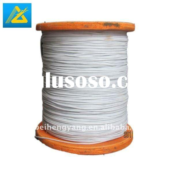 PVC or silicon coated electric resistance wire