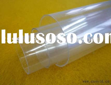 PVC transparent thin wall pipe (extrusion), plastic pipe/tube, conduit pipe, water tube