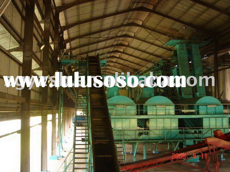 Palm oil pressing equipment in machinery