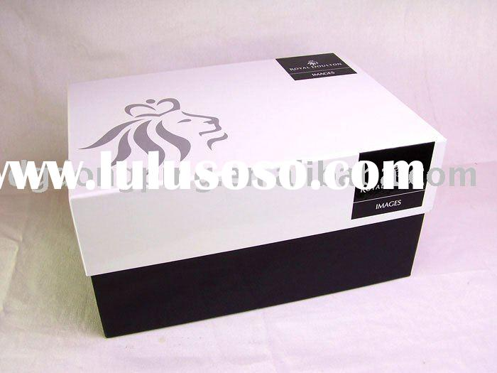 Paper Box with Lid, Paper Gift Box, Packaging Box