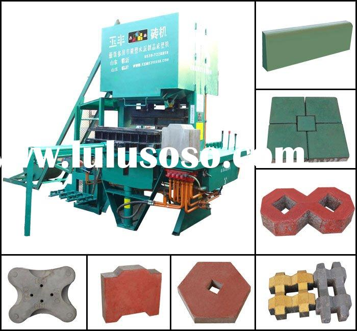 Paving bricks machine