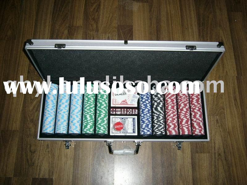 Poker Chip Set 500 pcs